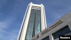 Қозоғистон парламентининг қуйи палатаси (мажилис) биноси.