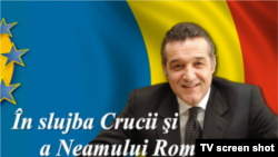 Romania, George Becali, leader of the ultranayionalist New Generation Party