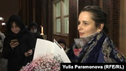 Элина Сушкевич после суда