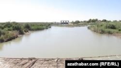 Türkmenistanyň Murgap derýasyndaky bent