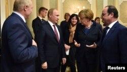 Minskdə Ukrayna danışıqları - 11 fevral 2015