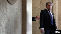 """Председателят на ПГ на """"Има такъв народ"""" Тошко Йорданов. Снимката е от 30 юли"""