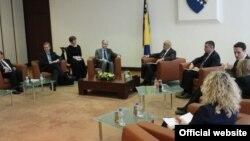 Susret predsjedavajućeg Vijeća ministara BiH Vjekoslava Bevande i direktora Opće uprave za proširenje Evropske komisije Kristijana Danielsona