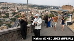 Tbilisidə İran turistləri