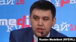 Вице-министр информации и коммуникаций Казахстана Алан Ажибаев. Алматы, 11 ноября 2016 года.