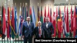 Mustafa Cemilev BM Baş Assambleyasınıñ toplaşuvında, 2018 senesi dekabrniñ 17-si
