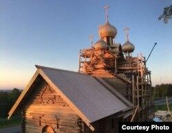 Реставрация церкви Богоявления. Деревня Палтога, Вологодская область