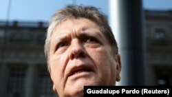 Perunun keçmiş prezidenti Alan Garcia