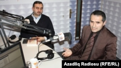 Adıgözəl Məmmədov və Faiq Qəzənfəroğlu (sağda)