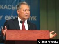 Kyrgyz President Kurmanbek Bakiev