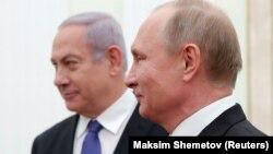 دیدار دو رهبر در فوریه سال جاری؛ نتانیاهو یک روز پیش از سفر جدیدش به مسکو، این موضع را تکرار کرد که اگر ایران بتواند در سوریه استقرار نظامی بیابد، «خطر آن برای موجودیت اسرائیل از وجود حماس در غزه بیشتر خواهد بود».