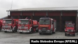 Противпожарна единица во Тетово.