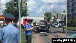 Aftermath Of Bomb Attack On Tatar Mufti