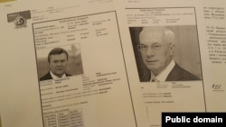 Виктор Янукович и Николай Азаров разыскиваются Интерполом