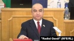 Шукурҷон Зуҳуров, раиси Маҷлиси Намояндагони Тоҷикистон.