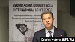Serge Brammerzt na konferenciji u Sarajevu, foto: Dražen Huterer