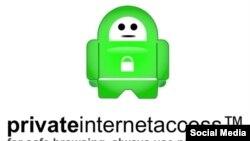 Логотип Private Internet Access