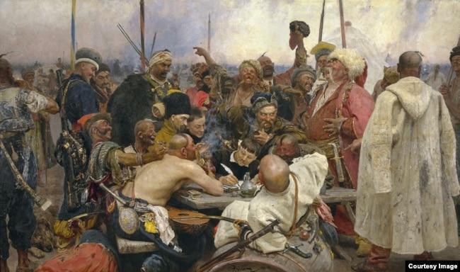 """Илья Репин. """"Запорожцы"""", 1891 год. Русский музей"""