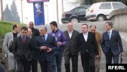 Čelnici crnogorske opozicije, Foto: Savo Prelević