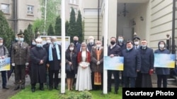 В Вильнюсе Посольство Украины в Литве почтило память жертв геноцида крымскотатарского народа.