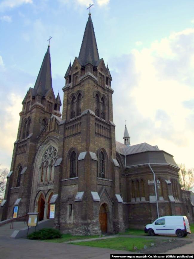 Римо-католицький костел, Кам'янське