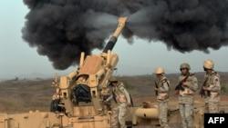 حملات توپخانهای سعودی به شورشیان در یمن