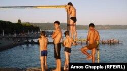 В Абхазии в разгаре курортный сезон