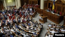 На засіданні Верховної Ради, 18 червня 2015 року