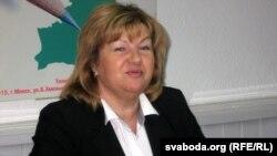 Министр информации Беларуси Лилия Ананич.