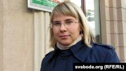 Кіраўніца менскай арганізацыі БХД Вольга Кавалькова, архіўнае фота