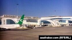 Международный аэропорт, Ашхабад