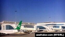 Ашғабат халықаралық әуежайы.