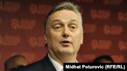 BosnianForeign Minister Zlatko Lagumdzija