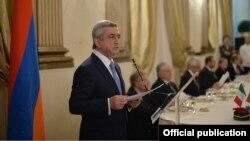 Фотография предоставлена пресс-службой президента Армении
