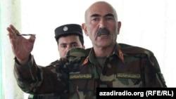 جنرال محیالدین غوری قوماندان قول اردوی ۲۰۷ ظفر هرات