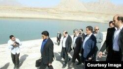 بازدید اسحاق جهانگیری از سدهای تهران