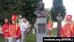 Помнік Вацлаву Ластоўскаму ў Глыбокім
