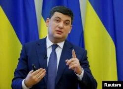 Прем'ер-міністар Украіны Ўладзімер Гройсман