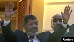 Один из кандидатов - Мохаммед Мурси