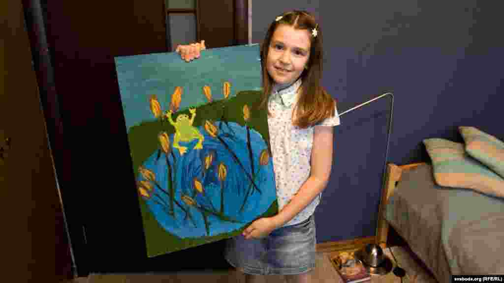 """Zhenya, 10, is from Minsk, Belarus. """"I'd like to be a furniture designer and live in London, because I love to paint,"""" she says. """"But now I'd like to visit my grandmother in Homel. And next year I want to get good grades."""""""