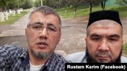 Судланувчилар Рустам Каримов (чапда) ва Тўлқин Астанов.