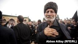 Azərbaycanda aşura mərasimi (Arxiv foto)