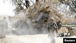 Ilustrim me pamje arkivore nga Afganistani
