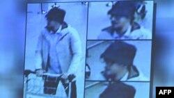 Відеокадр із камери спостереження з «людиною в капелюсі»