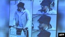 """""""Человек в шляпе"""" в день взрывов в аэропорту Брюсселя. Снимок с камеры наблюдения."""