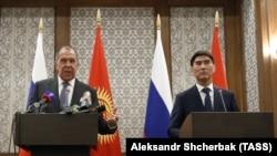 Сергей Лавров жана Чыңгыз Айдарбеков, 4-февраль, 2019-жыл.