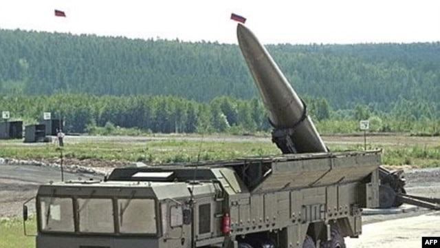 An Iskander missile system