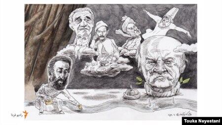 علیاکبر صادقی و مهمانانش/ کاری از توکا نیستانی