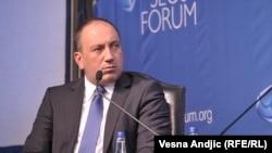 Serbia -- Minister of foreign affairs of Bosnia and Herzegovina Igor Crnadak attending the Belgrade Security Forum, October 12, 2017.