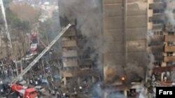 سقوط هواپیما در یک نقطه مسکونی، تعداد زیادی کشته بر جا گذاشت